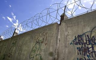 Barbed wire wall, military Free Photo