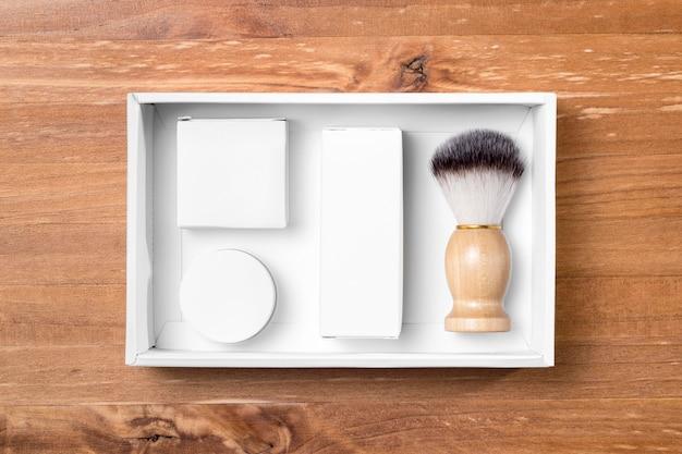 ボックス内の理髪店グルーミングツール 無料写真