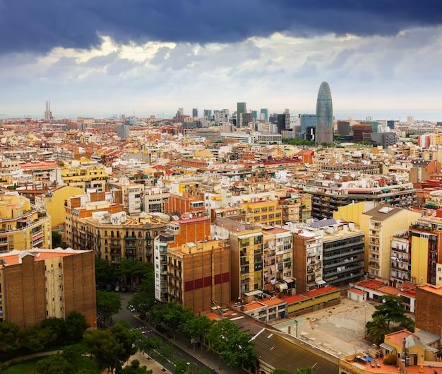 Barcelona City: Barcelona City From Sagrada Familia. Spain Photo