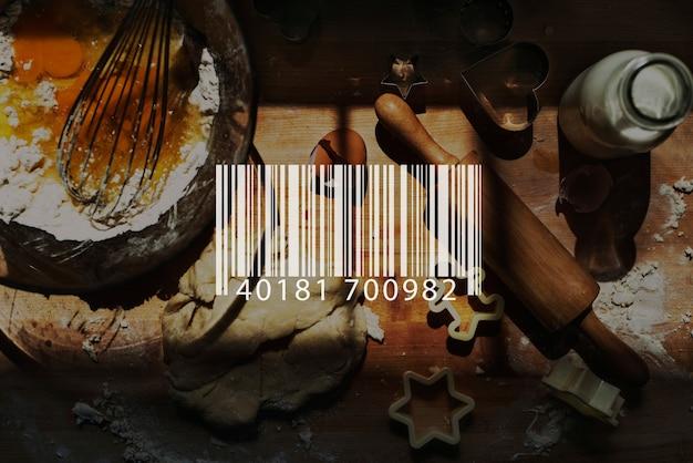 Barcode scan shopping store merchandise retail concept Premium Photo
