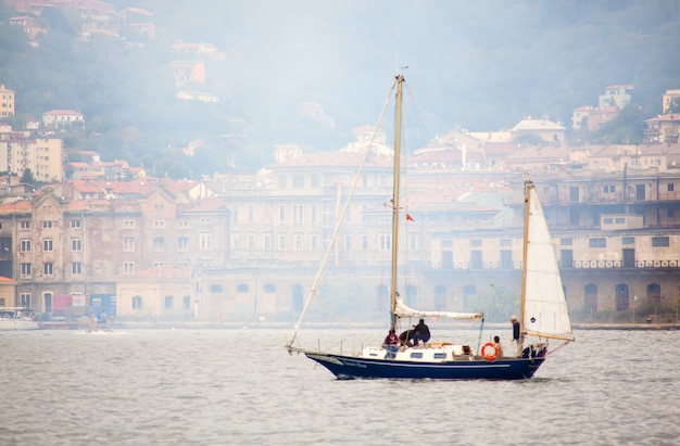 Barcolana regatta Premium Photo