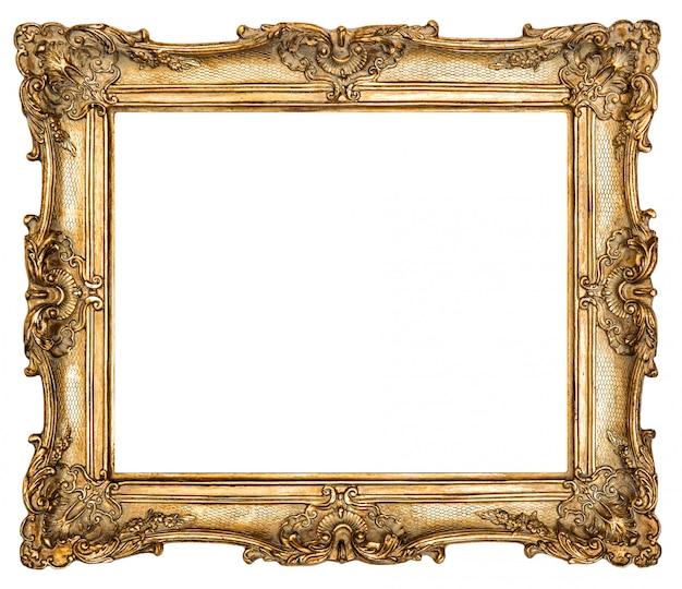バロック様式の金色額縁 Premium写真