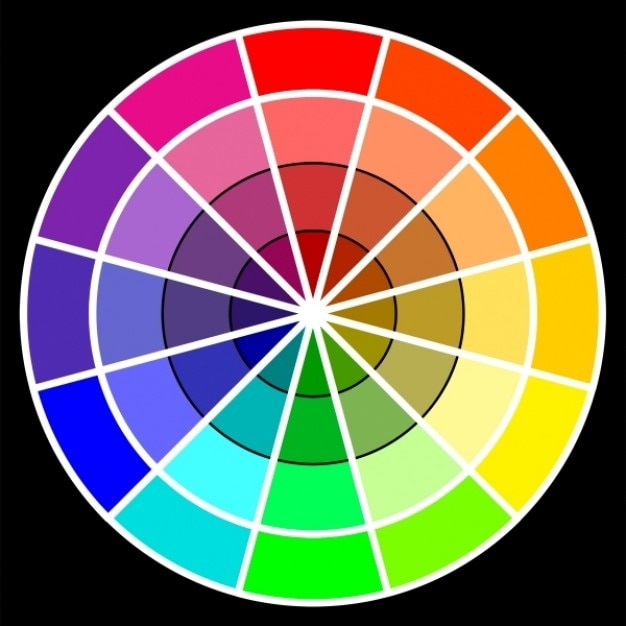 Basic Color Wheel Photo