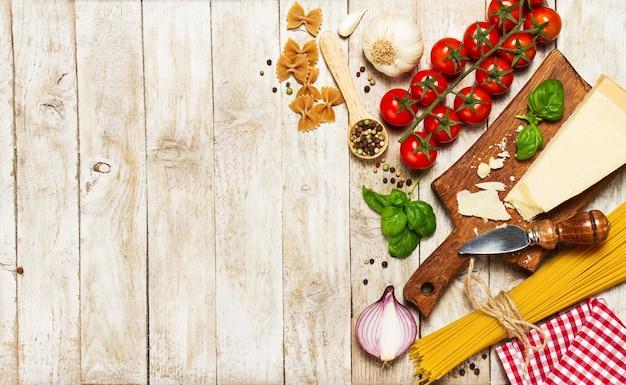 Basil Dinner Food Background Red Photo Premium Download