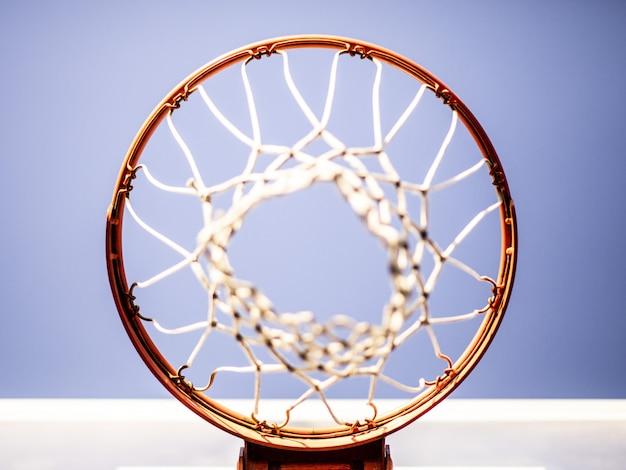 Баскетбольное кольцо, снятое сверху Бесплатные Фотографии