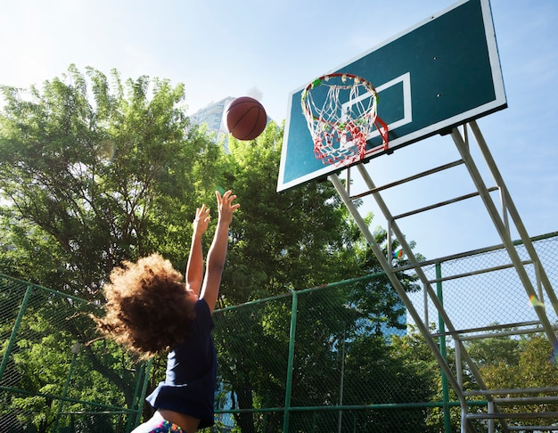 Basketball sport exercise activity leisure Premium Photo