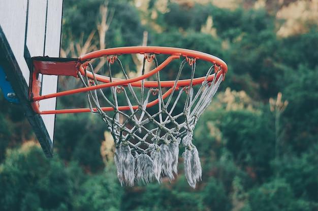 Basketball sport in the street Premium Photo
