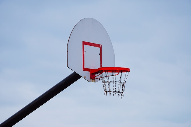 Basketball sport in the street Premium Photo