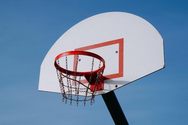 Basketball in the street Premium Photo