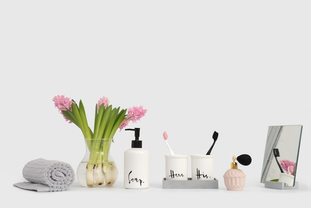 Bath accessories Premium Photo