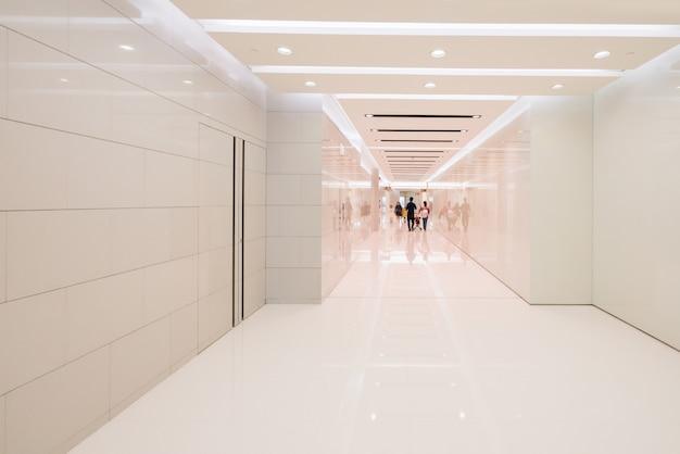 Bathroom interior space in shopping mall Premium Photo