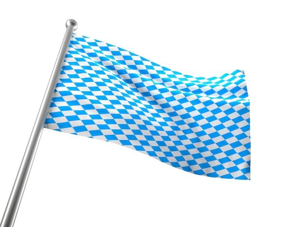 Bavaria flag Premium Photo