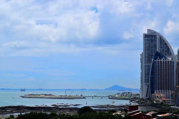 Bay of panama Premium Photo