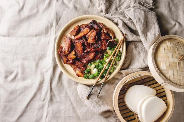 Bbq pork belly Premium Photo