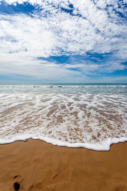 Beach of torregorda Premium Photo