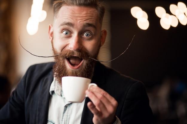 Bearded man Free Photo