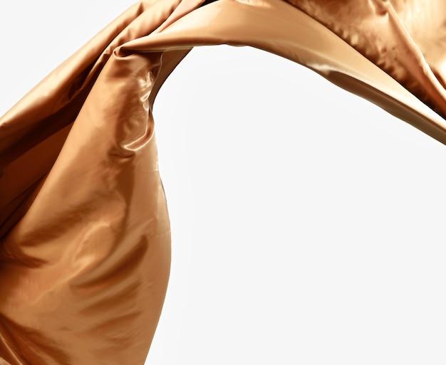Bello concetto di seta astratto con lo spazio della copia Foto Gratuite
