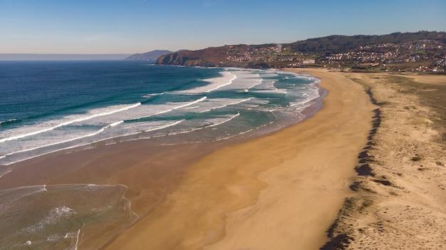 Beautiful aerial view of the coast Premium Photo