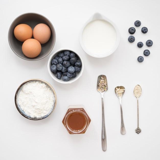 Красивые и вкусные десертные ингредиенты Бесплатные Фотографии