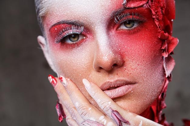 Красивый, художественный макияж Бесплатные Фотографии