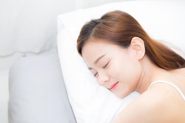 sleeping Young russian girl