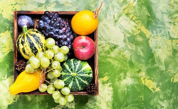 Beautiful autumn harvest Premium Photo