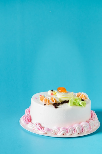 Beautiful big cake Free Photo