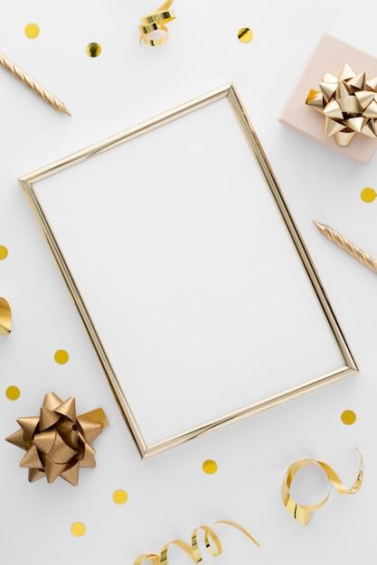 コピースペースと美しい誕生日のコンセプト 無料写真
