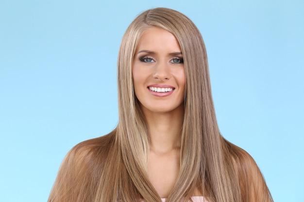 Beautiful blonde woman Free Photo