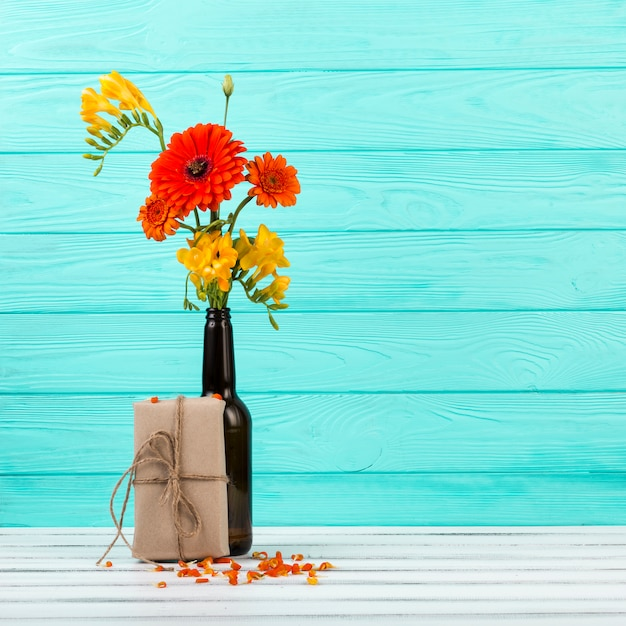 Beautiful bouquet of flowers Free Photo
