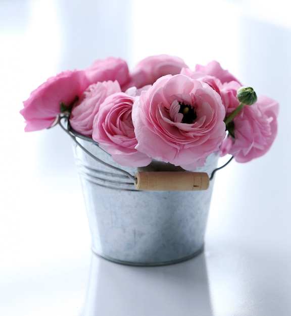 Beautiful bouquet on the table Free Photo