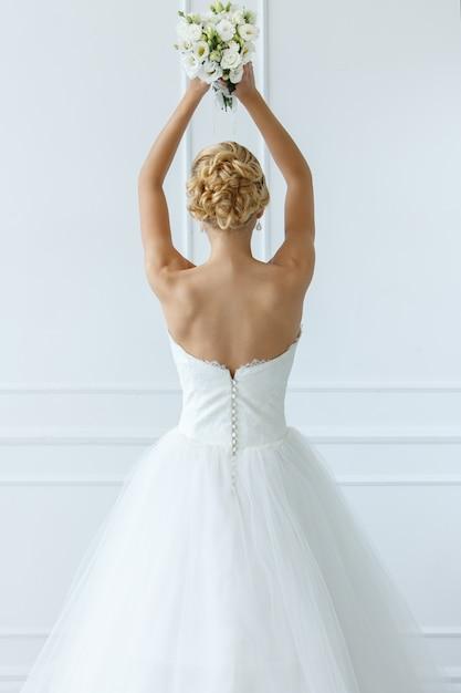 Beautiful bride Free Photo