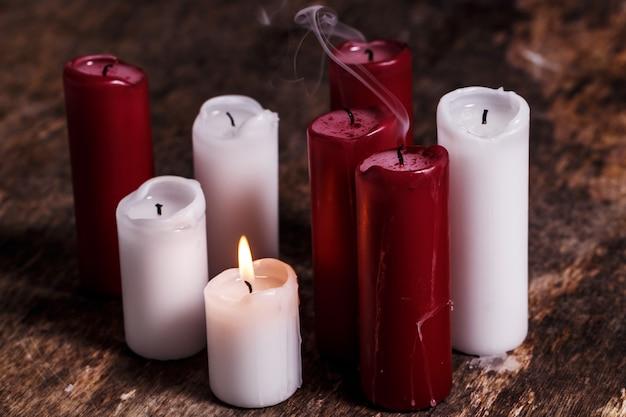 Beautiful candles Free Photo