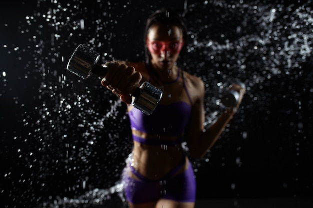 Beautiful caucasian sportswoman Premium Photo