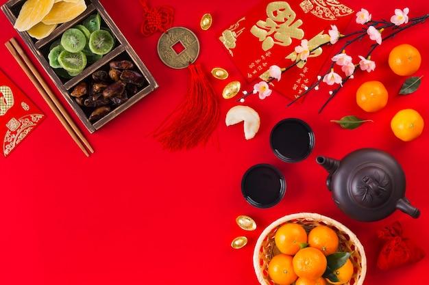 Beautiful chinese new year concept Free Photo