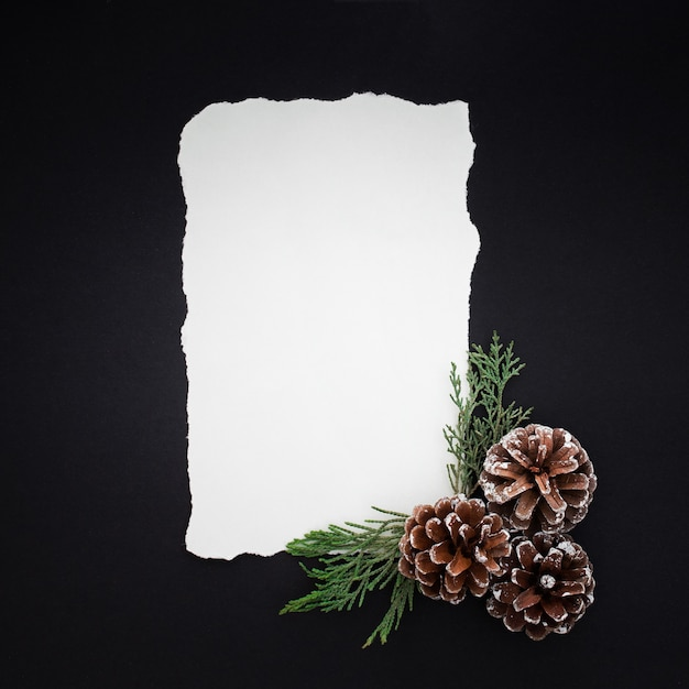 Beautiful christmas letter Free Photo