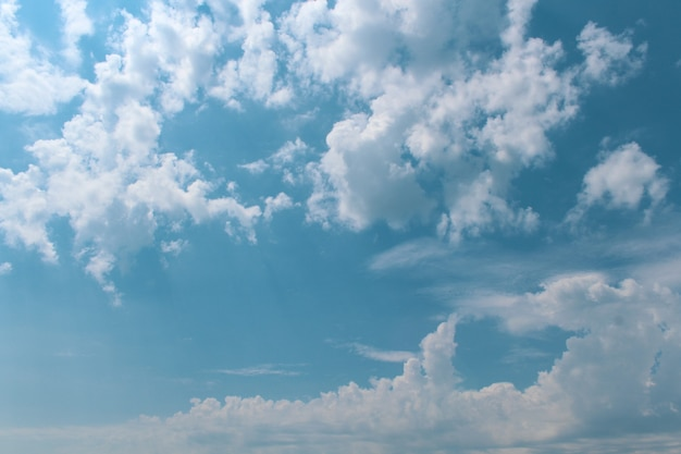 Belle nuvole nel cielo Foto Gratuite