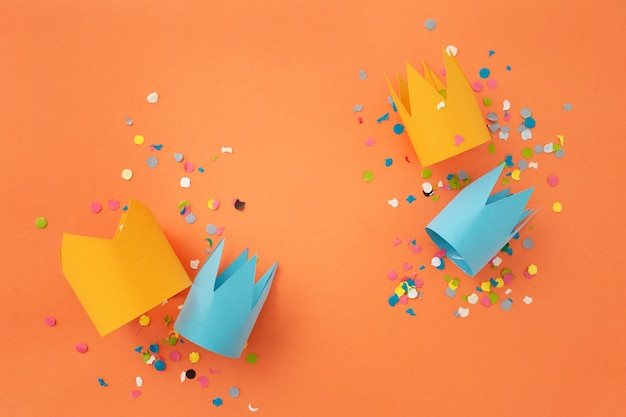 Beautiful colorful background to congratulate birthday Free Photo