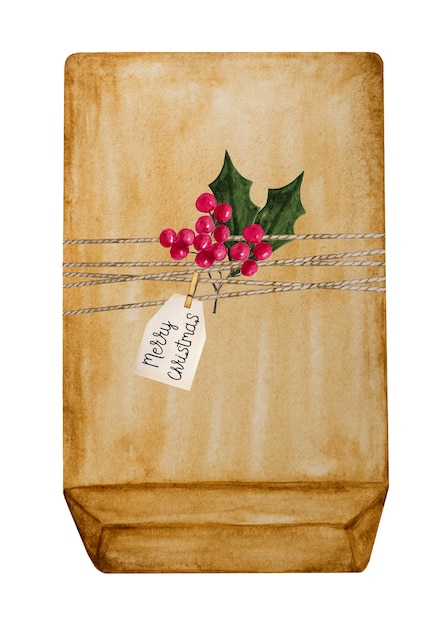 Beautiful drawing of boxes with gifts for the holiday Premium Photo