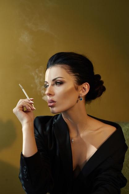 Naked cigar smoking blondes nude gallery