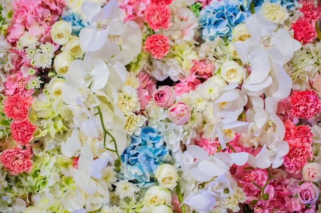 装飾用の美しい花 Premium写真