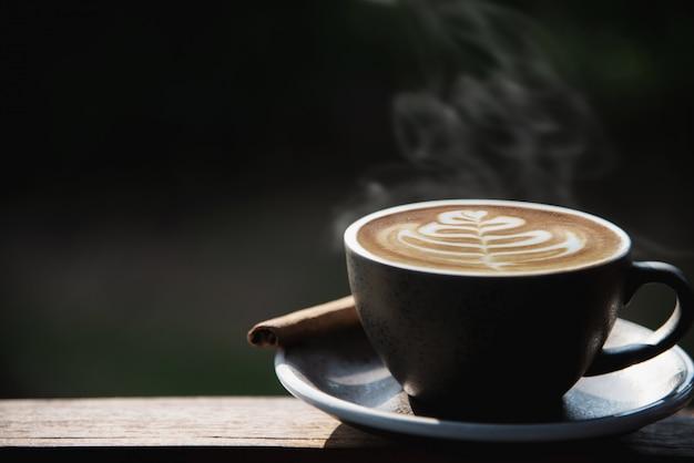 Beautiful fresh relax morning coffee cup set Free Photo