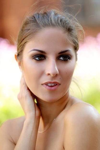 Beautiful girl outside Free Photo