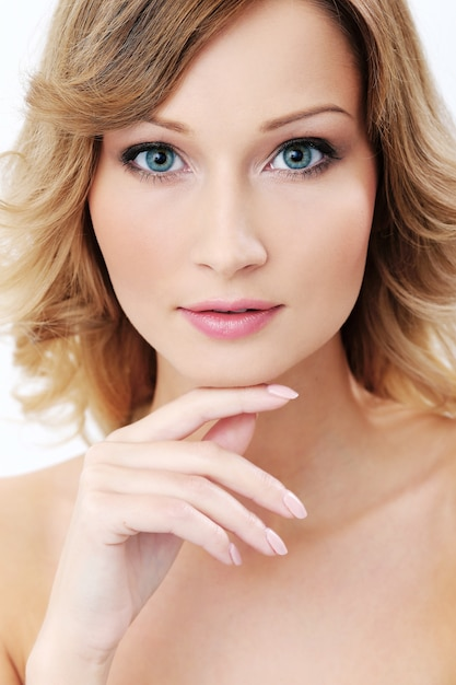 Beautiful girl with clean and perfect skin Free Photo