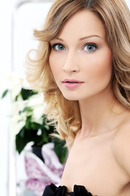 Free Photo | Beautiful girl with clean and perfect skin