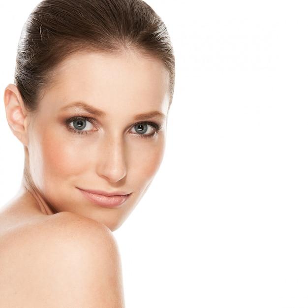 Beautiful girl with tender skin Free Photo