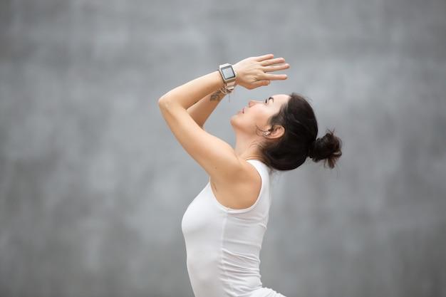 Beautiful hatha yoga Free Photo