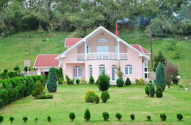 Beautiful house Premium Photo