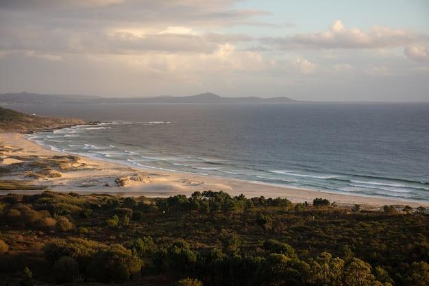 Красивый пейзаж пляжа Бесплатные Фотографии