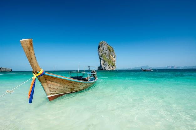 Beautiful landscape phuket, krabi,  thailand Premium Photo